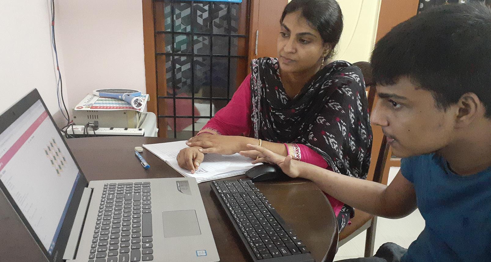 Establishing the right foundation for one's growth – The fulfilling journey of budding coder Sadiq